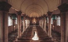 〖城市旅拍〗——『教堂实景内景』+『江景别墅区』