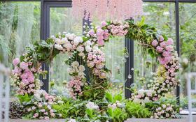 【婚礼印象】人民大厦《花的海洋》主题婚礼