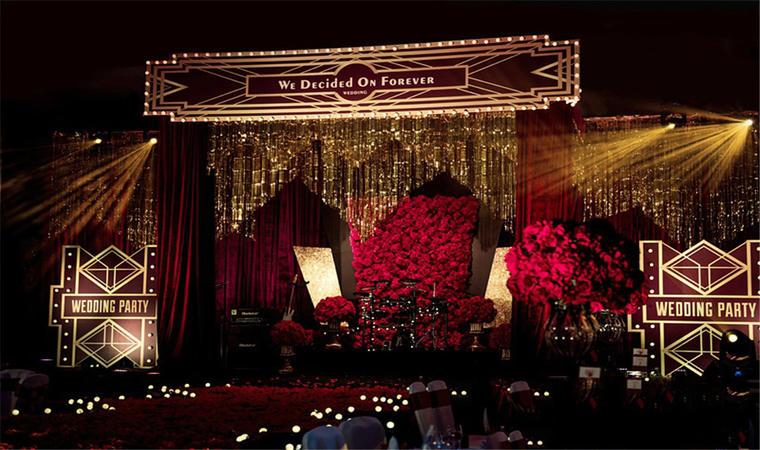 婚礼鲜花布置【婚礼印象】后来云遮薄月,清露如霜。