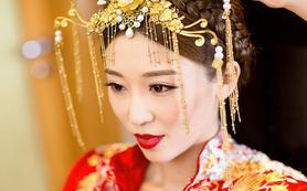 约橙【首席档】老师跟妆+齐地婚纱   订单最多