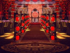 鸾凤和鸣新中式婚礼布置