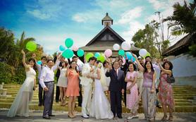 巴厘岛云之教堂婚礼,乐惟海外婚礼重庆店