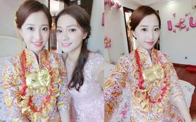 首席化妆师Yoko老师全天婚礼跟妆 清新精致妆容