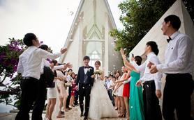 乐惟海外婚礼重庆店,巴厘岛水之教堂婚礼
