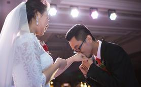 酒店婚礼仪式+晚宴  总监单机摄影