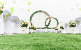 【Memory·忆婚礼】-白绿户外套餐