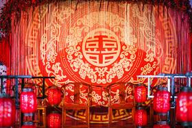 梵盛婚礼|中式婚礼|红玫瑰