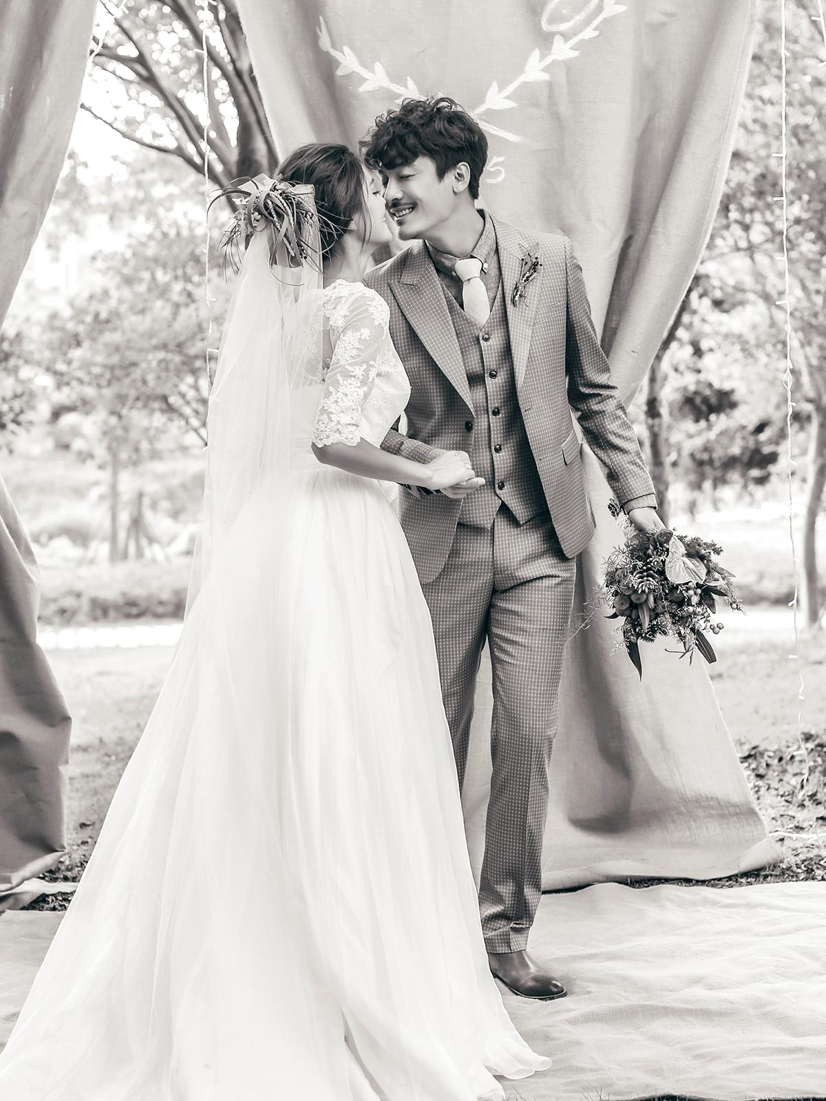 小清新婚纱照