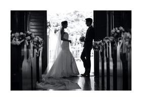 婚礼教堂拍结婚照