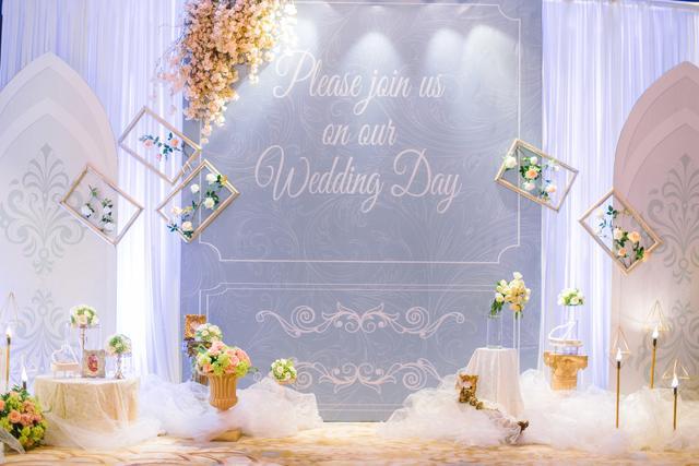 森系婚庆布置效果图
