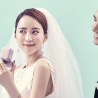 唯美韩式系列婚纱照
