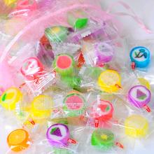 喜糖硬糖果一邦水果糖硬糖糖创意切片糖果500g约130颗