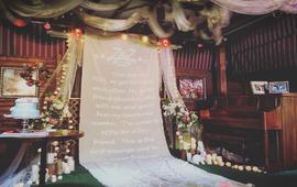 小型婚礼 清新精致派对婚礼