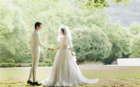 牵着你手不放开竹川影像森系婚纱照