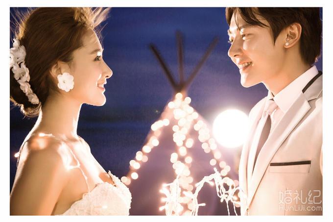 【自然风】3999元韩式夜景马场浪漫婚纱照套系