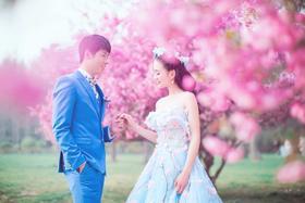 木禾映画最美樱花季唯美婚纱照