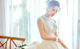 Rose-Miss婚纱造型-仪式纱定制