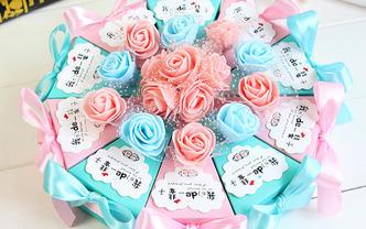 欧式蛋糕盒(购喜糖,送糖盒,免费装盒)