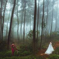 森系童话 城市旅拍 5大独特线路任选 定制婚纱照