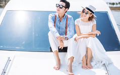 【一对一精致服务+蜜月酒店】+豪华游艇+海景畅拍