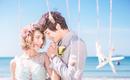 【自然风】4999元青岛日照海景旅拍高端婚纱套系