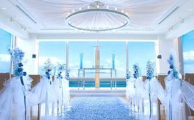北海道小樽蓝港教堂婚礼,乐惟海外婚礼重庆店