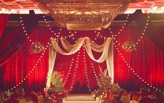 朴质的红 传统而美好的中式婚礼
