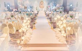 【柒悦套餐】烟灰蓝|简约浪漫欧式婚礼