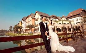 欧韩式婚纱照系列《奥地利小镇》摄影外景基地