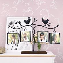 相框摆件创意装饰欧式地中海组合创意相框墙桌面客厅卧室照片架像