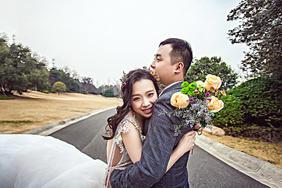 枫禾映画韩式纪实公路婚纱照