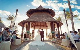 沙巴亚庇香格里拉-拉莎利雅度假村沙滩婚礼