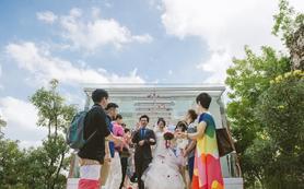 巴厘岛水晶教堂婚礼,乐惟海外婚礼重庆店