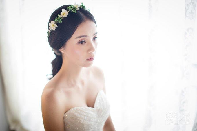【梦里梦外】首席化妆师婚礼全程跟妆送三位亲友妆