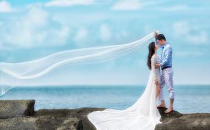 南宁涠洲岛自由旅拍婚照6服6造N场景精修40
