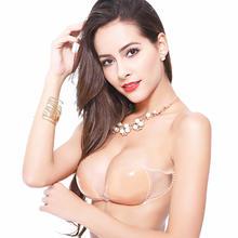 B8011硅胶隐形文胸加厚防滑性感无痕胸贴聚拢小胸婚纱乳贴女