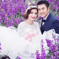 蜜恋婚纱摄影 花的海洋 美的新娘 心动不如行动哦