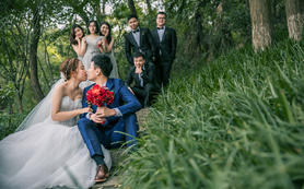 【金星婚礼摄影】高级摄影师单机位全天拍摄