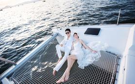 蜜恋婚纱摄影 一次浪漫旅行的婚纱照