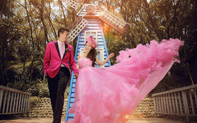 【西安爱久久婚纱摄影】粉红色回忆