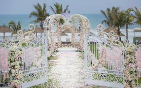 浪漫公主粉,童话城堡主题婚礼