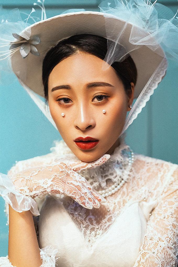 大麦摄影-欧式新娘妆面造型