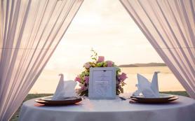 马来西亚沙巴亚庇 香格里拉丹绒亚路 沙滩求婚策划