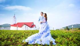 爱蜜月青岛旅拍 韩式主题婚纱照