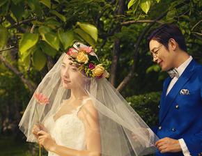 洛克摄影百分百纯客片展示%清新婚纱客片欣赏