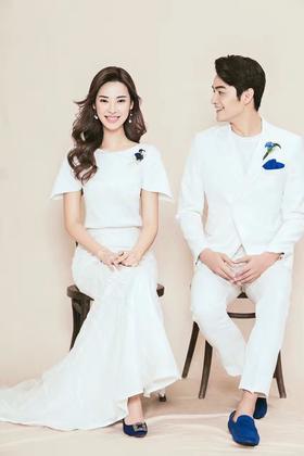 【茜茜公主】韩式婚纱摄影 原创作品