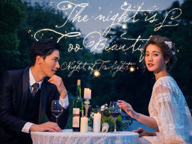 洛克摄影百分百纯客片展示%韩式婚纱客片欣赏