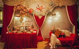 Special  wedding《暖冬》红色复古主题婚礼
