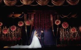 Special  wedding《暖》高端酒店婚礼现场