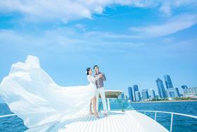 罗薇摄影青岛旅拍客片【海阔天空-有你在这里】